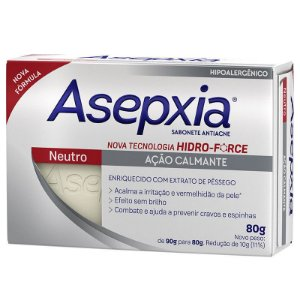 Asepxia Sabonete Neutro 90g