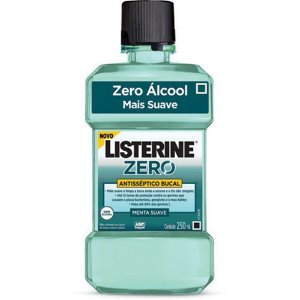Listerine 250ml Cool Mint Zero Álcool