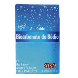 Bicarbonato De Sódio 100gr ADV