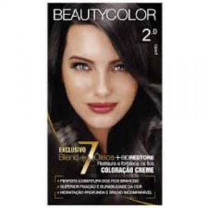 Tintura Beauty Color Kit Nova 2.0 Preto