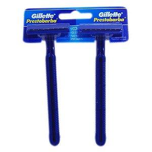Aparelho Barbear Gillette Prestobarba Descartável c/ 2un