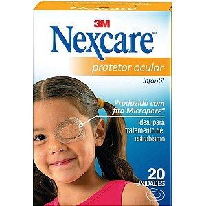Nexcare 3M Protetor Ocular Infantil 20un