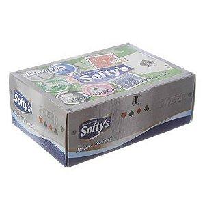 Lenço De Papel Softys c/ 100 Folhas