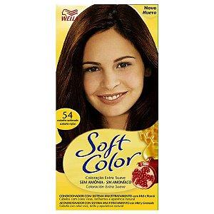 Tintura soft color 54 castanho acobreado