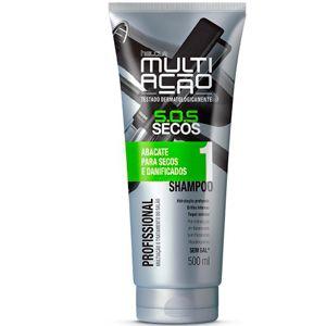 Shampoo Helcla Multiação S.O.S. Abacate Secos 400ml