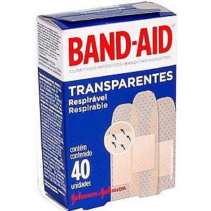 Band Aid Transparente 40un