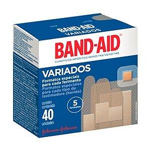 Band Aid Variados c/ 40 unid