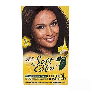 Tintura Soft Color 30 Castanho Escuro