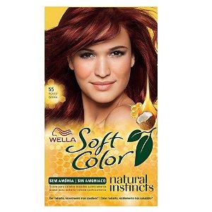 Tintura soft color 55 acaju caoba