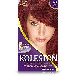 Tintura koleston 764 vermelho fashion