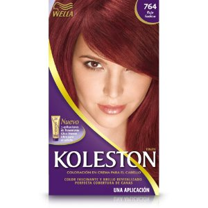 Tintura koleston (vermelhos poderosos) 764 vermelho fashion