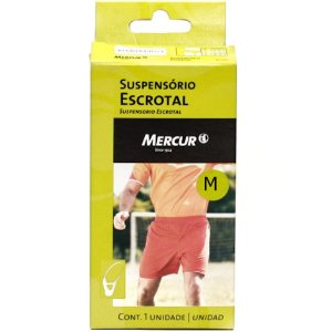 Suspensório Escrotal Mercur Tamanho M Ref.:BC0150-B