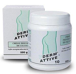 Derm Attive 10 Preventivo e Redutor Celulite 500gr