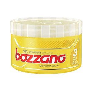Gel Fixador Bozzano 300g Amarelo Fixa Forte Proteção Solar