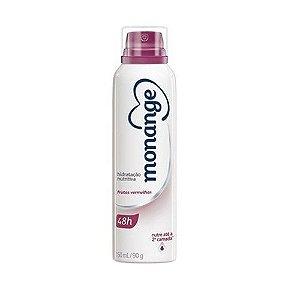 Desodorante Monange Aerosol 150ml Frutas vermelhas