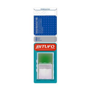 Escova Bitufo Interdental HB Ultra Fina 2mm (Branco)
