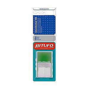 Escova Interdental Bitufo HB Cilindrica 2mm c/10unid. Branca