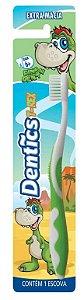 Escova Dental Dentics Dinodent Extra Macia