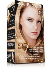 Tintura Beauty Color Kit Nova 9.0 Louro Muito Claro