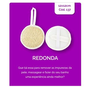 Bucha Vegetal Isa Redonda G Ref 137