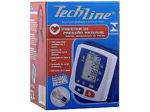 Aparelho De Pressao Digital Pulso Techline Z-40