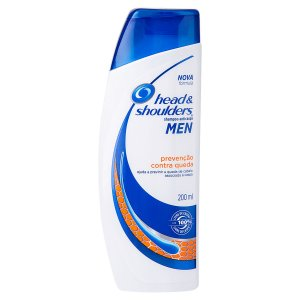 Shampoo Anticaspa Head & Shoulders 200ml Prevenção Queda Men