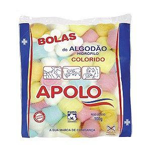 Algodao Apolo Bolas Colorido 100gr
