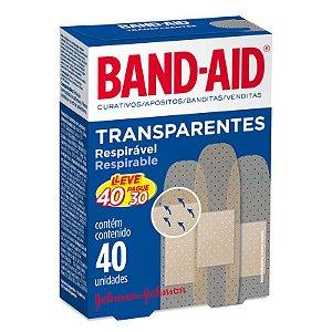 Band Aid Transparente Com 40 Un