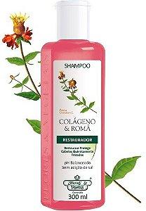 Shampoo Flores e Vegetais Colágeno e Romã 300ml