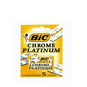 Lamina Bic Chrome Platinum 5un