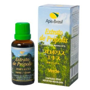Extrato de Propolis Verde 21% 30ml - Apis Brasil