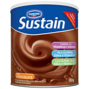 SUSTAIN SABOR CHOCOLATE 450G