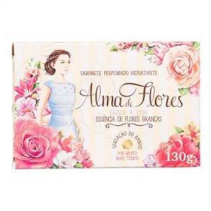 Sabonete Alma de Flores Flores Branca 130gr