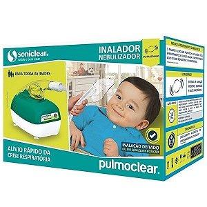 Inalador E Nebulizador Soniclear Ultrassonico Pulmoclear