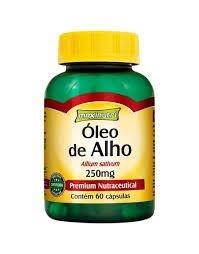 Oleo de Alho 250mg c/ 60 Cápsulas