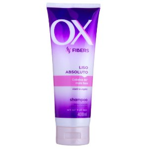 Shampoo OX Fibers Liso Absoluto 400ml