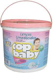 Lenço Umedecidos Top Baby rosa 450 und