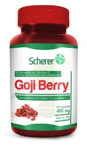GOJI BERRY 60CAPS 400MG (SCHERER)