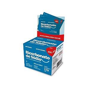 BICARBONATO DE SODIO SACHE 2,5G 10UN ADV