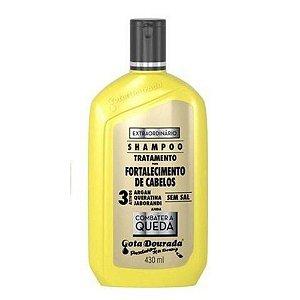 Shampoo Gota Dourada Extraordinário 3Ativos Anti Queda 430ml