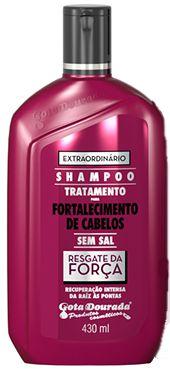 Shampoo Resgate da Força 430mL - Gota Dourada