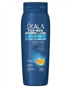 Shampoo Skala Anticaspa For Men 2x1 350ml