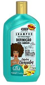 Shampoo Gota Dourada Cacheados Abacate+D´Pantenol 430ml
