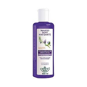 Shampoo Flores e Vegetais Matizante Blond 300ml