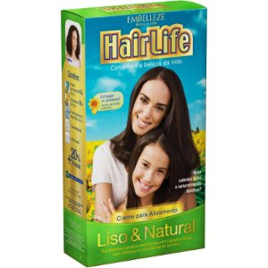Alisante HairLife 160gr Liso & Natural Forte