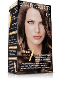 Tintura Beauty Color Kit Nova 6.0 Louro Escuro