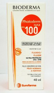 PHOTODERM MAX FPS 100 FLUIDO 40ML SEM PERFUME