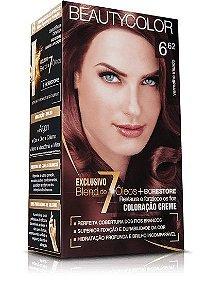 Tintura Beauty Color Kit 6.62 Vermelho Irisado