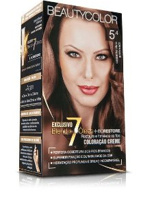 Tintura Beauty Color 5.4 castanho claro acobreado