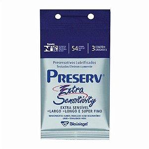 Preservativo Preserv Bolso c/ 3 Extra